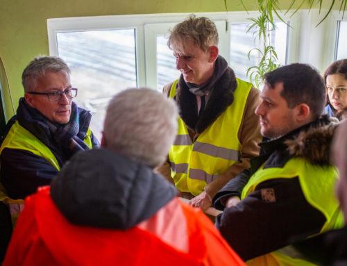 Wizyta Prezesa Urzędu Transportu Kolejowego wMałaszewiczach.