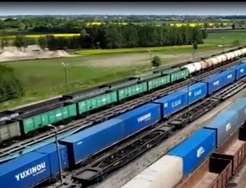 Suchy Port Kolejowy wMałaszewiczach bije rekordy przyjmowania dostaw ładunków zAzji – relacja.