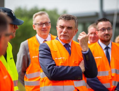 Wojewoda lubelski wizytował Rejon Przeładunkowy Małaszewicze